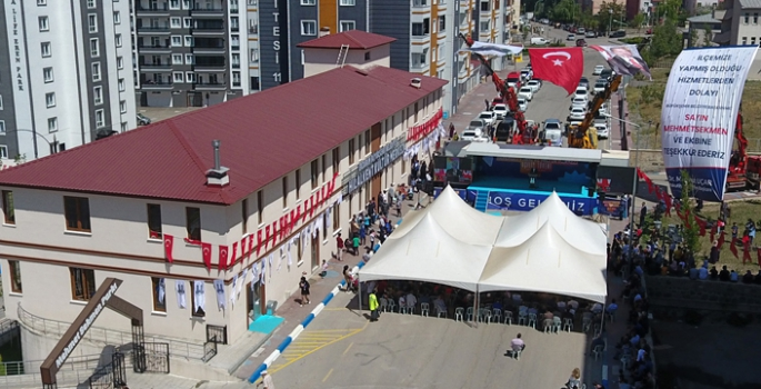 Hilalkent Kültür Merkezi ve Parkı hizmete açıldı