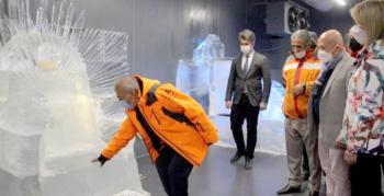15 Temmuz şehitleri buz müzesi sergisiyle anıldı