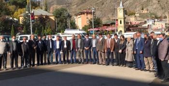 19 Ekim Muhtarlar Günü İspir'de kutlandı