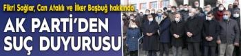 AK Parti'den suç duyurusu
