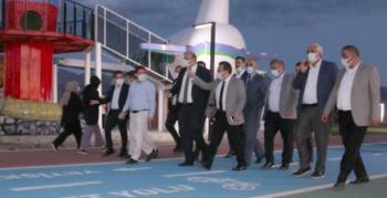 AK Partililerden Aziziye Belediyesi'ne ziyaret