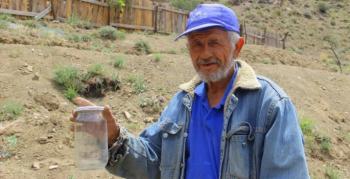 Akdeniz bitkisi olan lavantayı Erzurum'da yetiştirdi