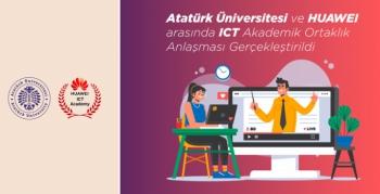 Atatürk Üniversitesi ile Huawei arasında akademik ortaklık