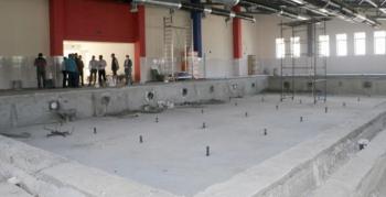 Aziziye'de Yarı Olimpik Yüzme Havuzu'nda sona gelindi