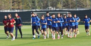 BB Erzurumspor Bursaspor hazırlıklarını sürdürdü
