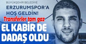 BB Erzurumspor El Kabir'i transfer etti