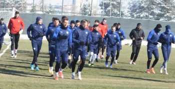 BB Erzurumspor Galatasaray hazırlıklarını sürdürdü
