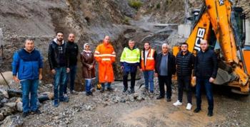 Bölge Müdürü Yavuz, baraj inşaatlarını inceledi