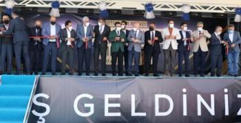 Büyükşehir'in Mega Yatırımı Yakutiye-Palandöken bağlantı yolu açıldı