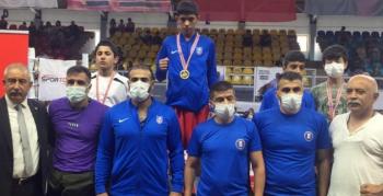 Büyükşehir'in sporcusu Türkiye şampiyonu oldu