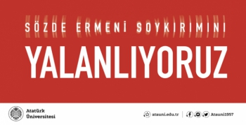 Çomaklı: Sözde Ermeni soykırımı yalanını kınıyoruz