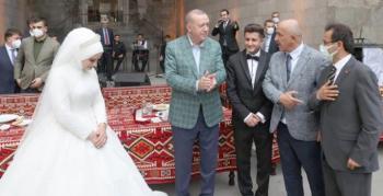Cumhurbaşkanı Erdoğan Çakır çiftini kabul etti