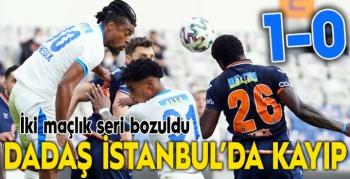 Dadaş İstanbul'da kayıp