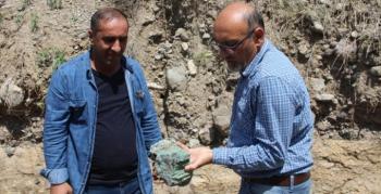 Erzurum'da 160 milyon yıllık keşif