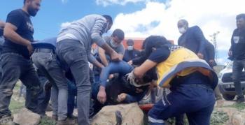 Erzurum'da feci kaza!