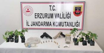 Erzurum'da hayvan hırsızlığı ve uyuşturucu operasyonu: 6 tutuklama