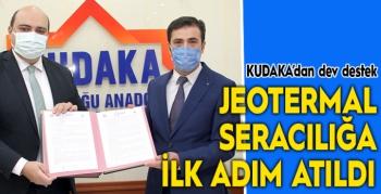 Erzurum'da Jeotermal Seracılığa ilk adım atıldı