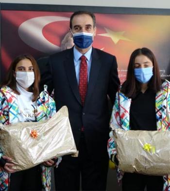 Erzurum'daki başarı Muş'ta ödüllendirildi