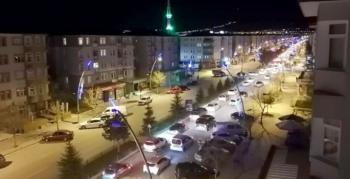 Erzurum'dan İsrail'e lanet yağdı