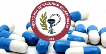 Erzurum Eczacı Odası'ndan 14 Mayıs Eczacılar Günü açıklaması