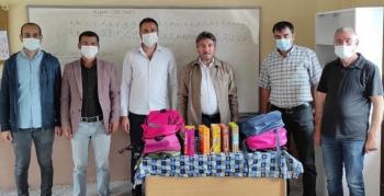 Erzurum Eğitim-Bir-Sen'den eğitime destek