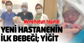 Erzurum Şehir Hastanesinin ilk bebeği, Yiğit