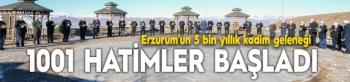 Erzurum'un 500 Yıllık Kadim Geleneği Binbir Hatim Başladı