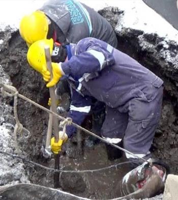 ESKİ ekipleri eksi 25 derecede zor şartlar altında çalışıyor