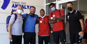 FT Antalyaspor 3. etap kamp için Erzurum'da