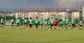 Giresunspor Süper Lig'e Erzurum'da hazırlanıyor