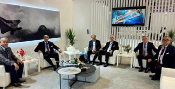 IDEF 2021'de iş birliği görüşmeleri yapıldı