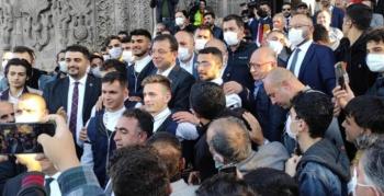 İmamoğlu Erzurum'da tarihi yerleri gezdi