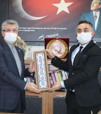 İran Başkonsolosundan Erzurum İşkur'a ziyaret