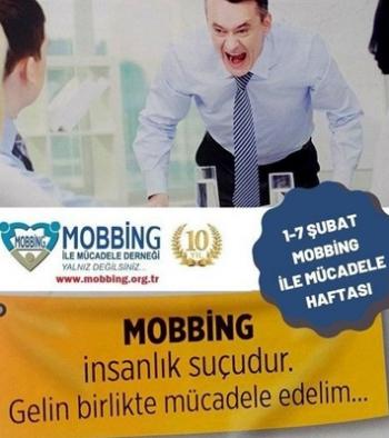 İşman'dan mobbing haftası mesajı