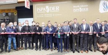 İSPADER genel merkezi törenle açıldı