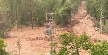 İspir'de sel felaketi: 1 kişi kayıp