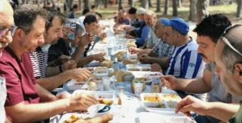 Karabük'teki Dadaşlar yemekte buluştu