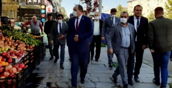 Karataş'tan esnaf ziyareti