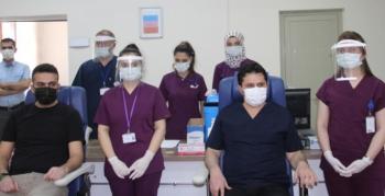 Köy öğretmenleri için aşı çalışması başladı