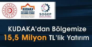 KUDAKA'dan SOGEP kapsamında bölgeye 15,5 milyon TL'lik yatırım