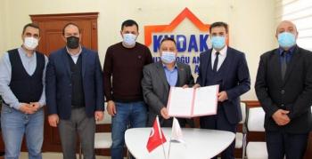 KUDAKA Mali Destek Programında ilk imzalar atıldı
