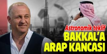 Mesut Bakkal'a Arap kancası