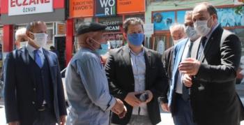 MHP Aziziye'de dert dinledi