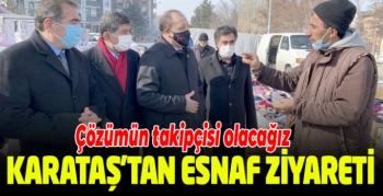 MHP İl Başkanı Karataş esnafı ziyaret etti