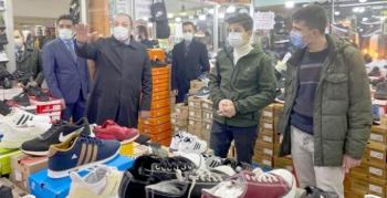 MHP'li Karataş'tan esnaf ziyareti