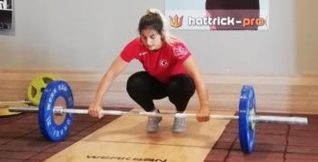 Milli ciritçi Eda Tuğsuz olimpiyatlara Palandöken'de hazırlanıyor
