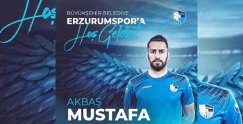 Mustafa Akbaş BB Erzurumspor'da