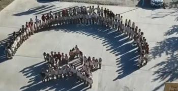 Öğrencilerden İstiklal Marşı'na anlamlı klip