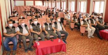 Orman mühendisleri ve muhafaza memurlarına eğitim semineri