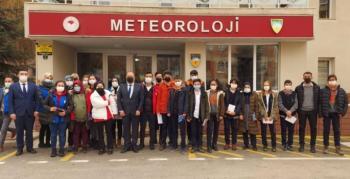 Palandöken Gençlik Merkezi 'Meteoroloji Günü'nü kutladı